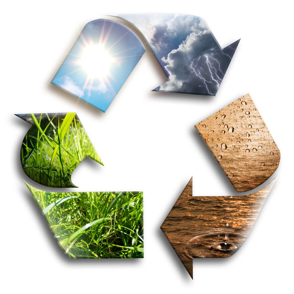 Symbole recyclage - économie circulaire
